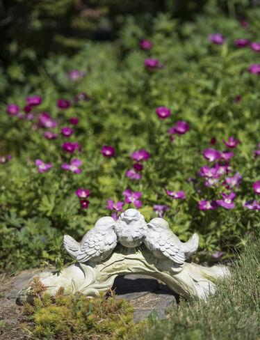 Three Birds of a Feather Garden Sculpture