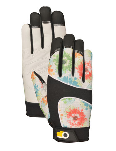 Women's Leather Palm Work Gloves