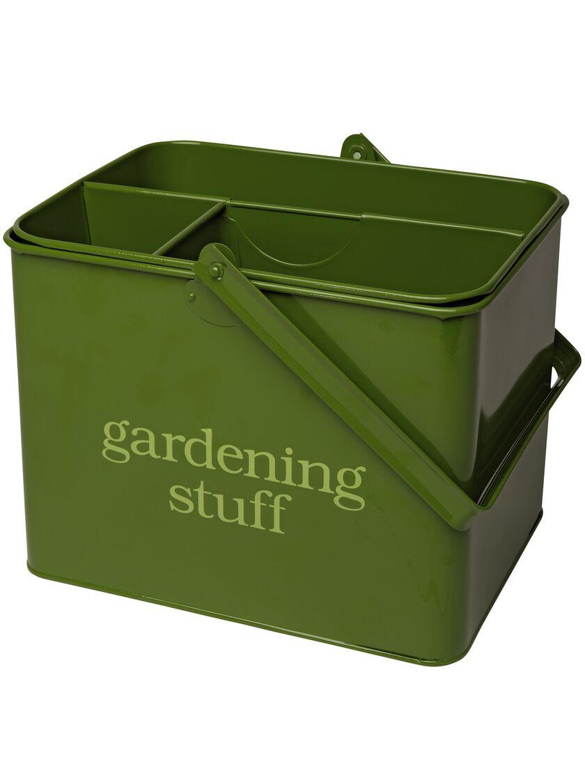Garden Tool Caddy Green Metal Tool Caddy Gardenerscom