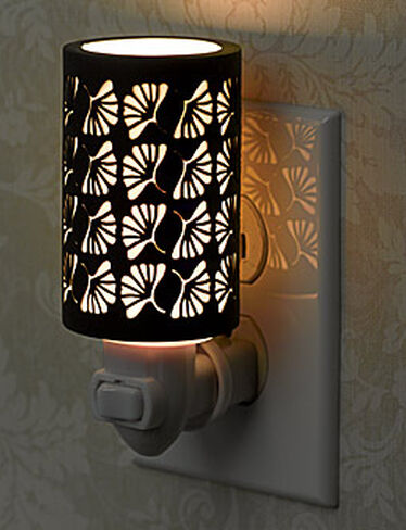 Pivoting Porcelain Night Light