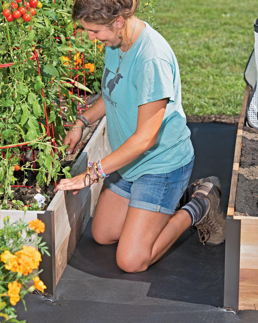 Rubber Weed Barrier Weed Block Weed Mat Gardenerscom