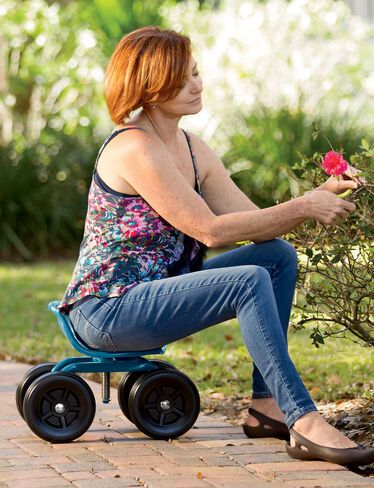 Gardening Seat Gardening Chair Low Rider Swivel Scoot