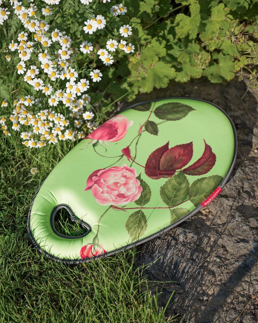 Kneeling pad with rose print garden kneeling pads for Gardening kneeling pads