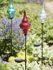 Solar Garden Finial Stake