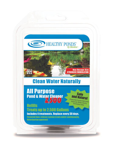 Pond cleaner submersible pond cleaner refills by bioverse for Pond cleaner