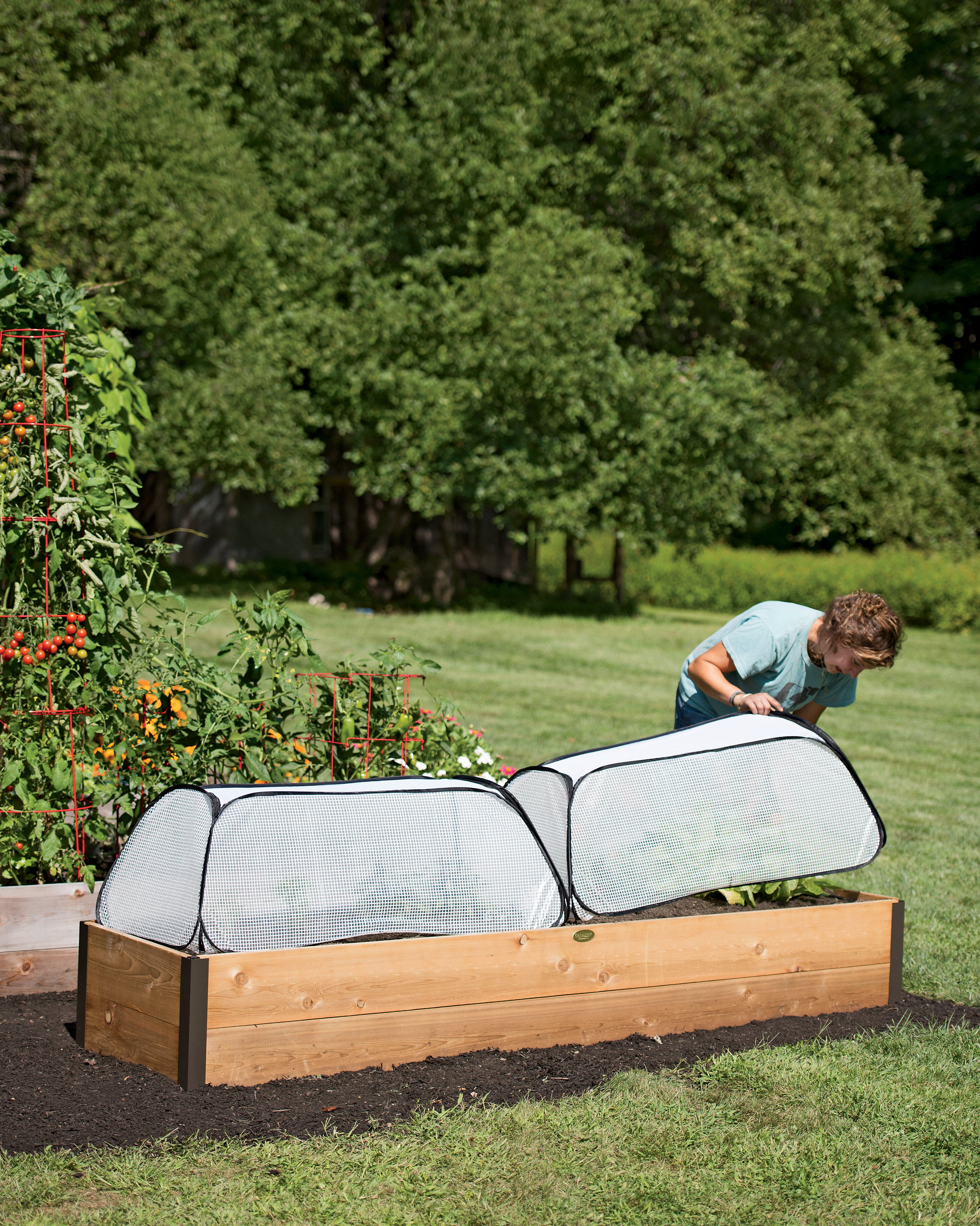 Raised Bed Covers Gardeners Supply