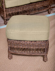 Legacy Outdoor Wicker Ottoman