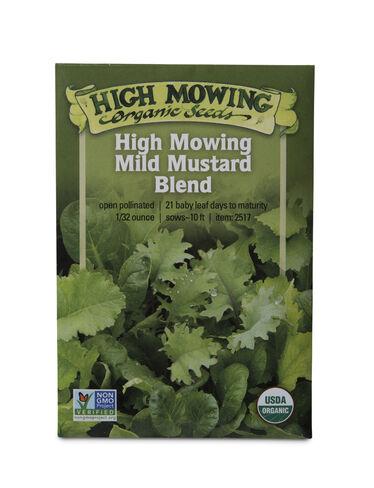 Mild Mustard Blend Organic Seeds