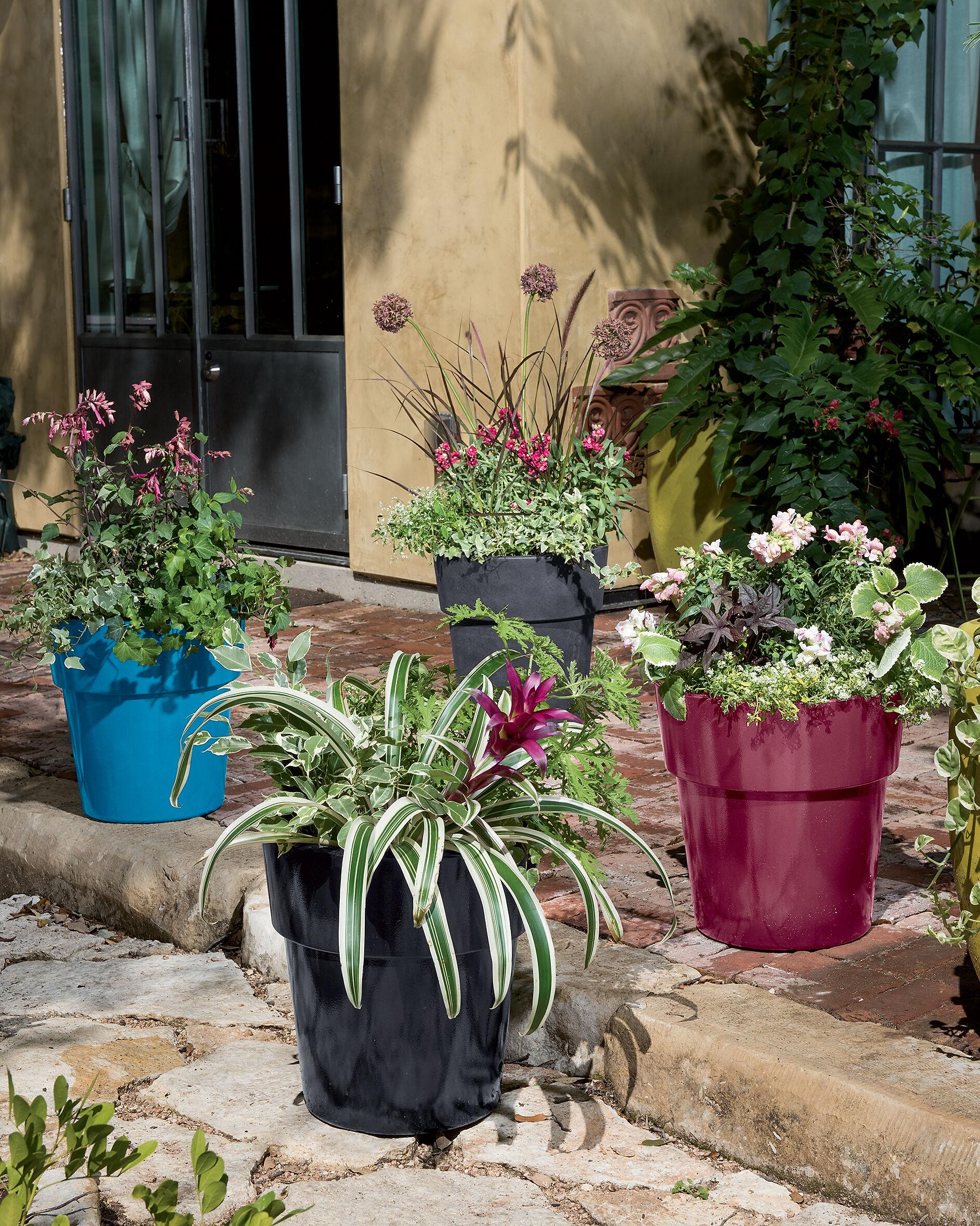 Herb Planter Self Watering Patio Planter Gardeners Com