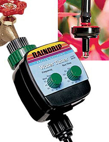 Automatic Patio Dripper Kit with Timer