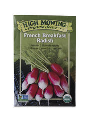 French Breakfast Radish Organic Seeds