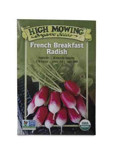 French Breakfast Radish Organic Seeds