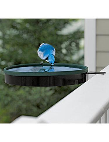 Railing Mount Heated Bird Bath Bird Bath Heater