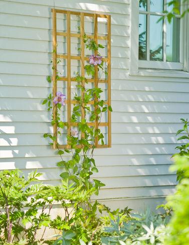 "Teak Trellis, 24"" x 48 plant supports, garden trellis, garden supplies, organic garden supplies, vegetable garden supplies"
