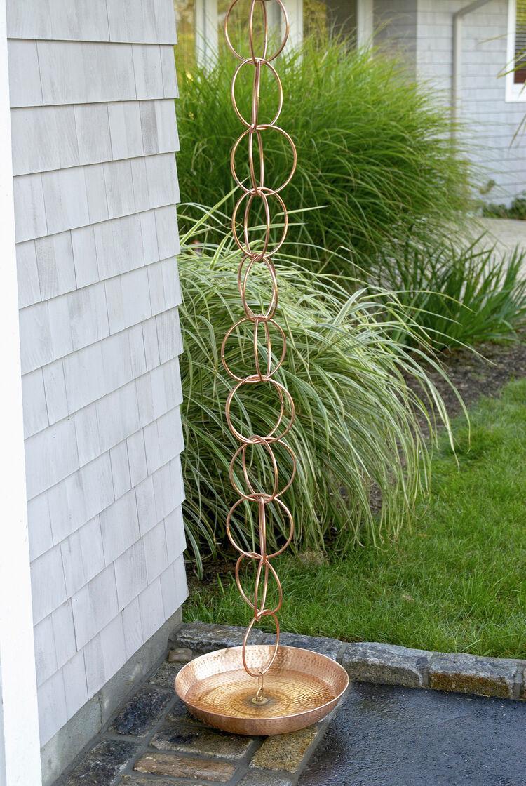 Rain Chain Double Link Copper Rain Chain Rain Gutter Chain