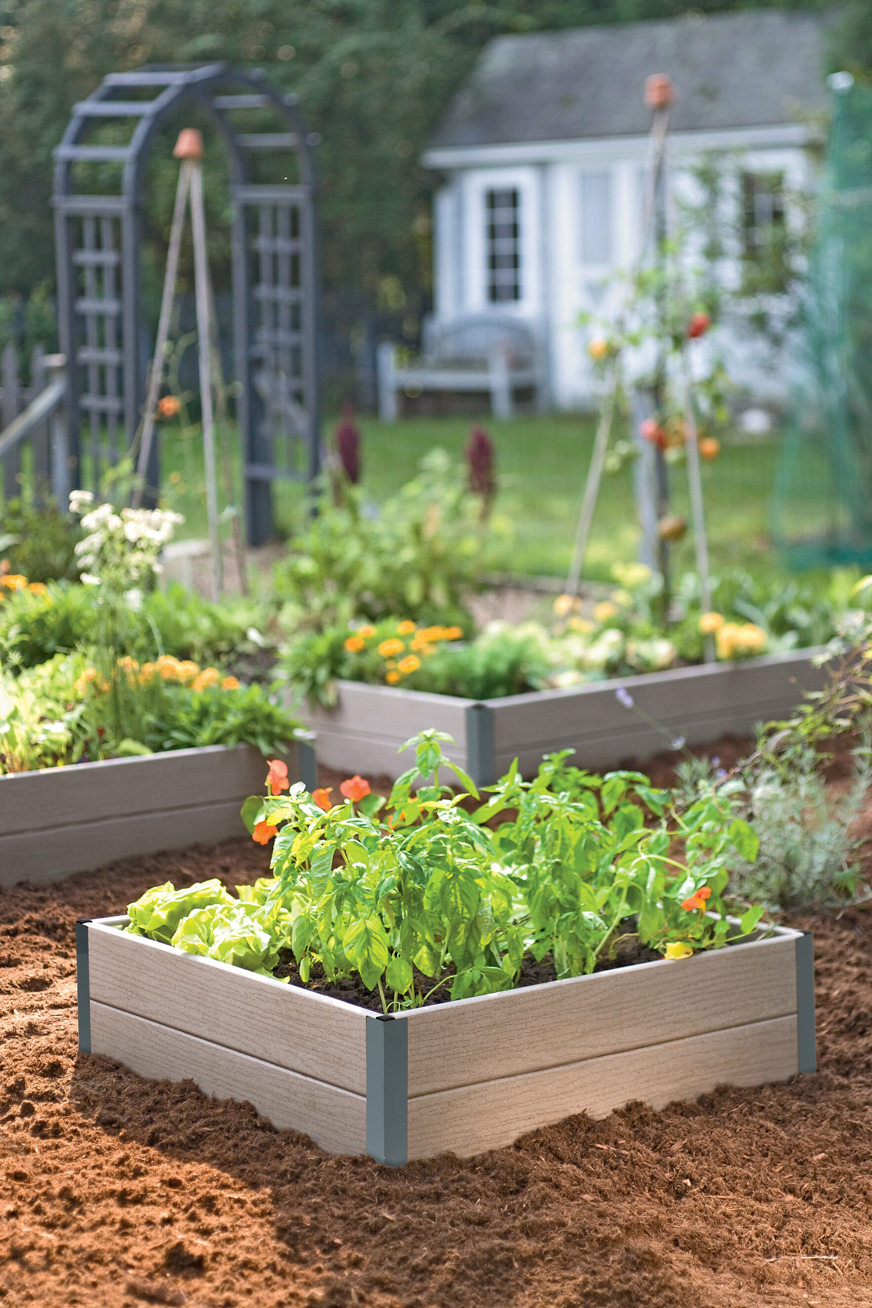 Raised Bed Corners Diy Raised Garden Beds Gardener S