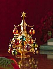 Colorful Glass Christmas Tree