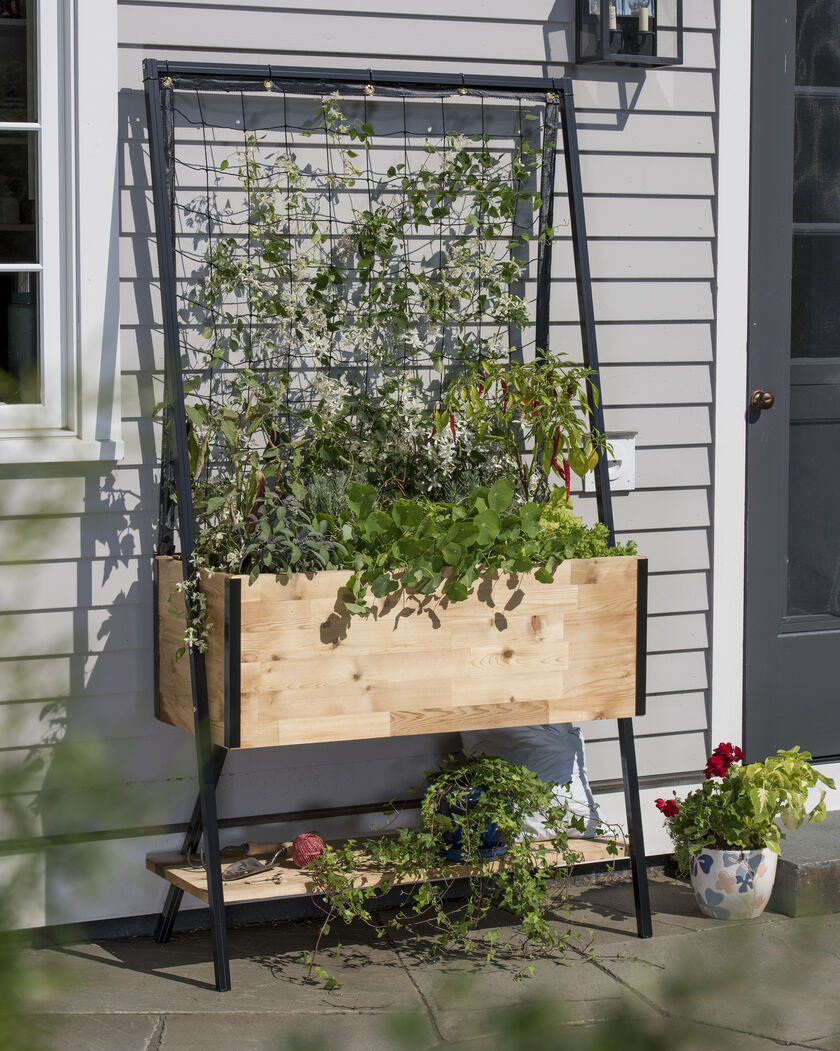 Cedar Planter Box Apex Trellis Planter Elevated Planter