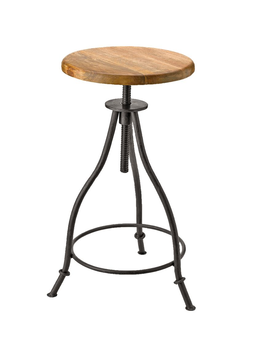 Adjustable Stool with a Vintage and Industrial Vibe  : 8586492069 from www.gardeners.com size 840 x 1120 jpeg 42kB