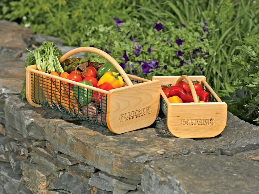 Basket Making Supplies Maine : Garden hod my making a veggie nancy on the