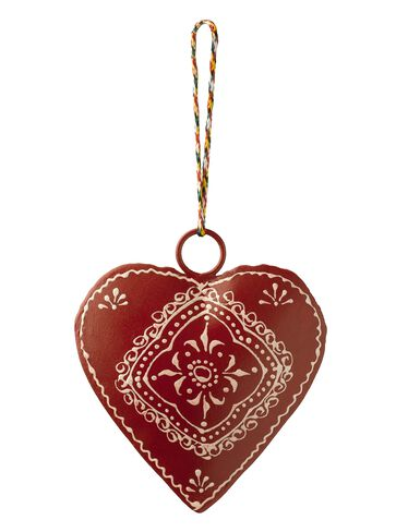 Vintage Heart Ornament