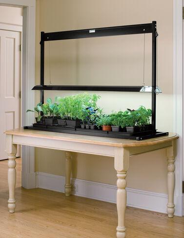 Indoor grow lights full spectrum plant light fixtures for Indoor gardening lighting guide