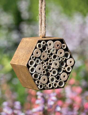 Rustic Mason Bee House