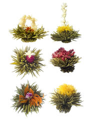 Medley of Blooming Teas, Set of 6