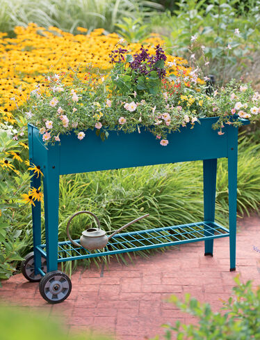 Demeter Mobile Planter Cart