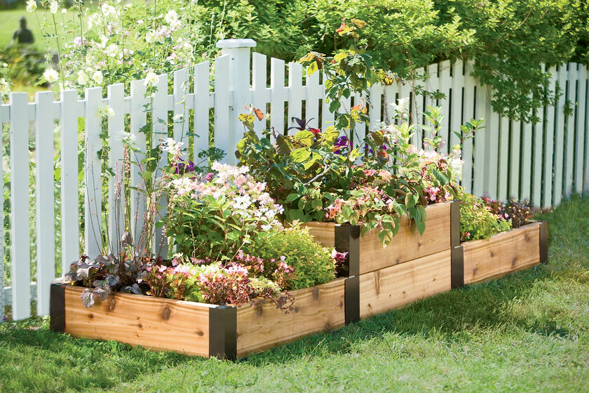 Raised Bed Corners Diy Raised Garden Beds Made In Vermont