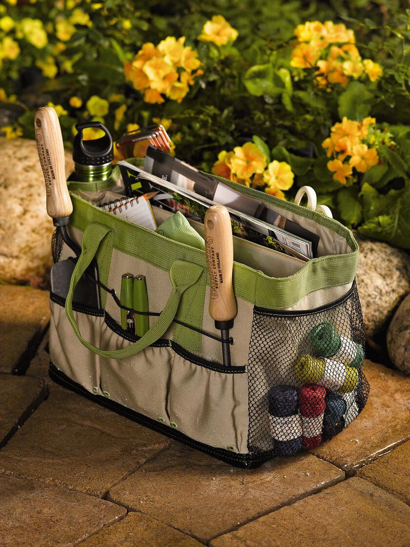 Puddle Proof Field Garden Bag Garden Tote Gardeners Supply