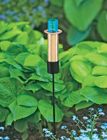 Floating Copper Rain Gauge