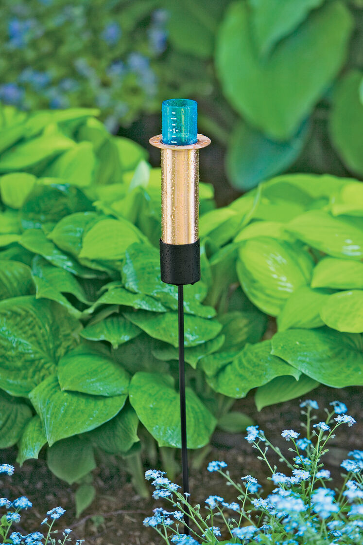 how to use nylex rain gauge