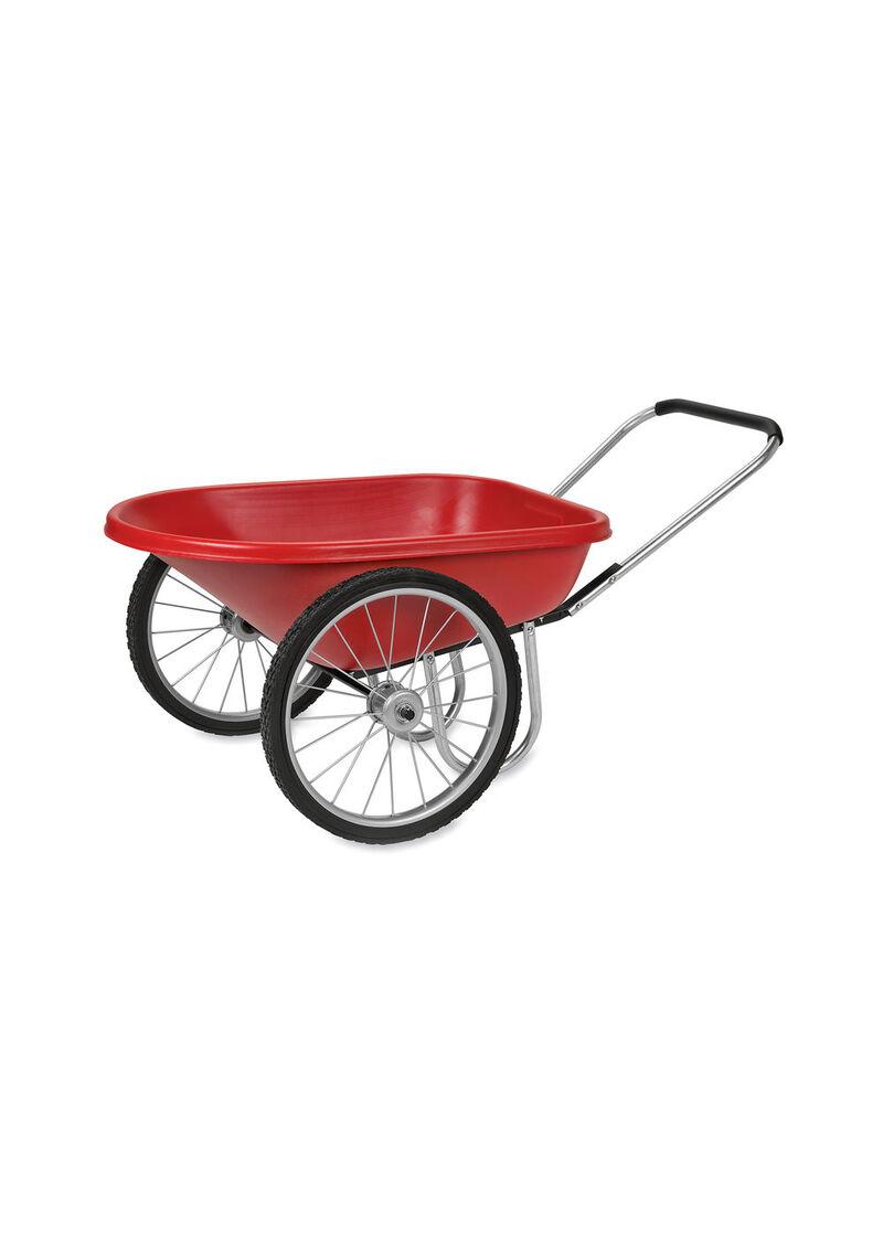 Wheelbarrow PolyTough Garden Cart Pneumatic Wheels Gardenerscom