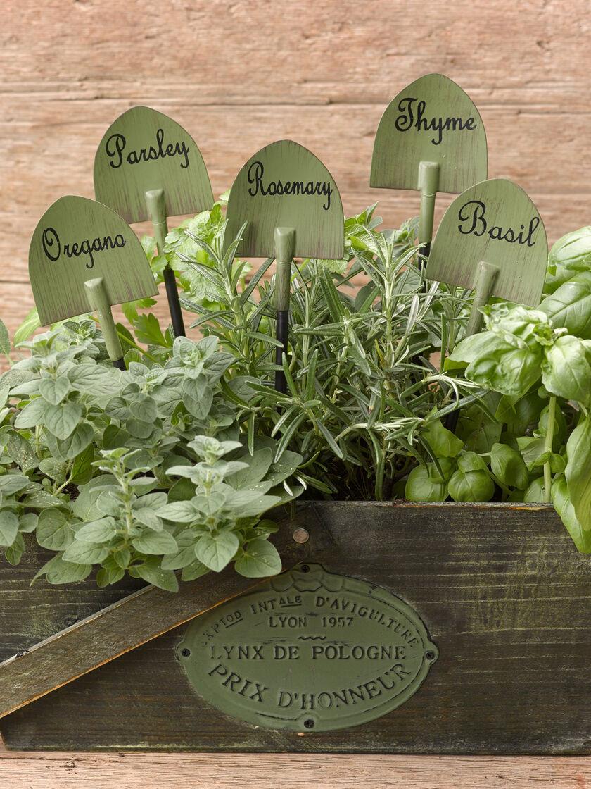 Herb Garden Markers decorative – Decorative Herb Garden
