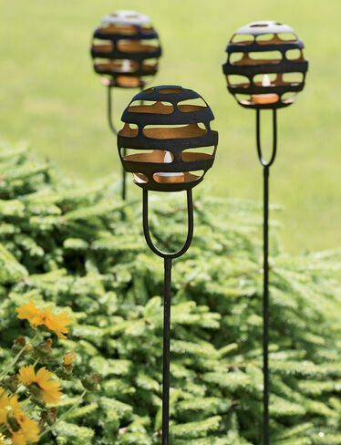 Ithaca Tea Light Stakes, Set of 3
