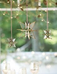 Bronze Moravian Star
