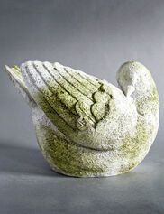 Bird Planter Garden Sculpture