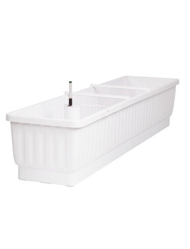 "39"" Self-Watering Windowbox, White"