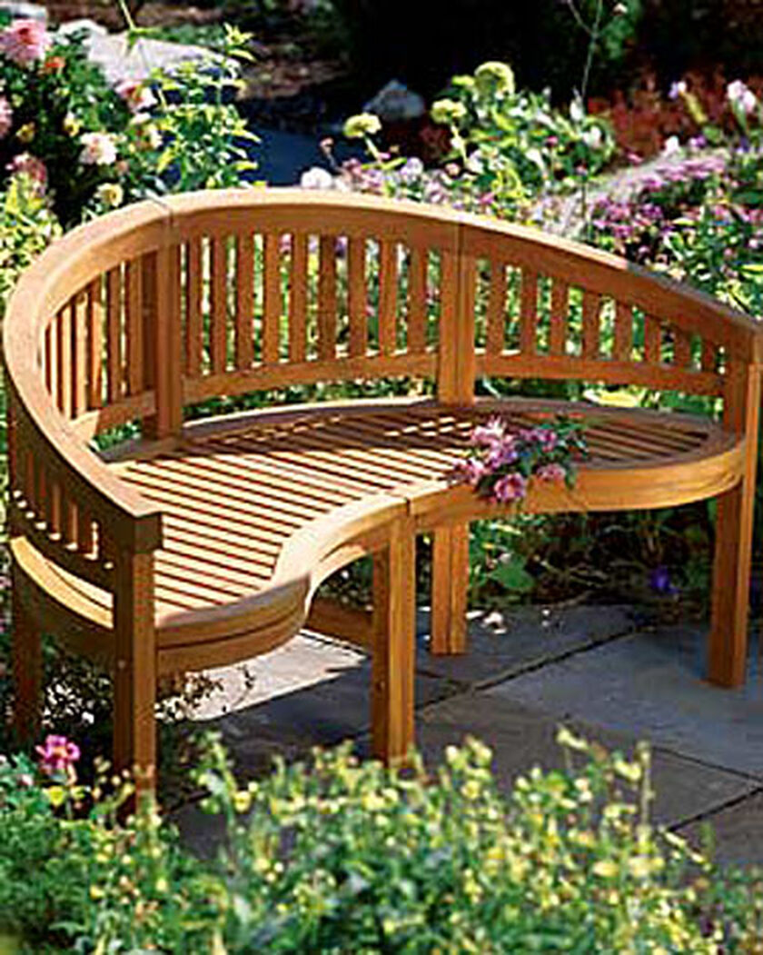 Reflection Garden Bench Buy From Gardener S Supply