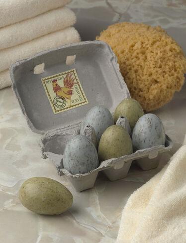 Egg Soaps, Set of 6