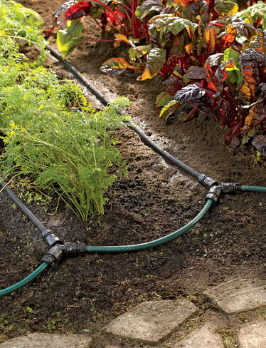soaker hose drip irrigation system for garden rows gardener 39 s supply