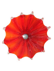 Viz Glass Fence Flower, 9""