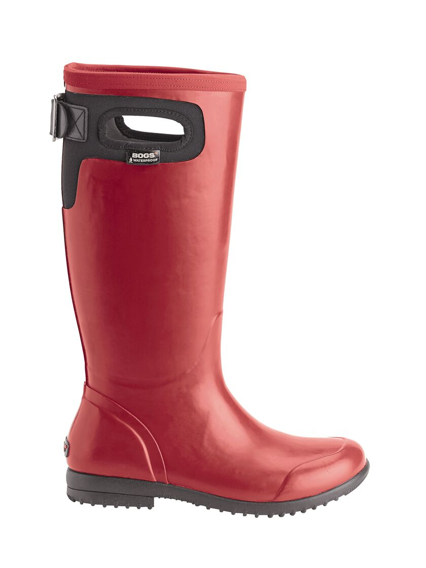 Bogs Boots for Women: Insulated Rain Boots Tall in Sizes 6-12