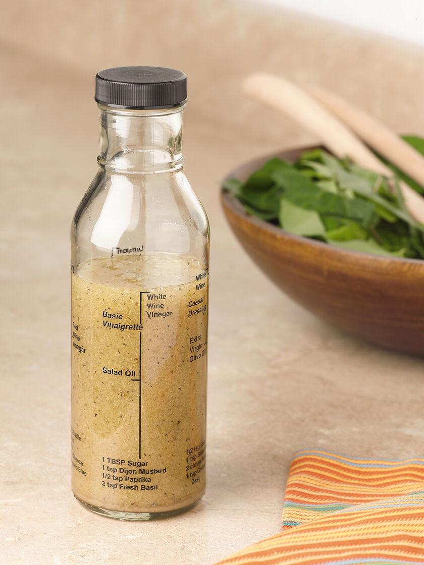 Salad Dressing Jars Salad Dressing Bottle Has