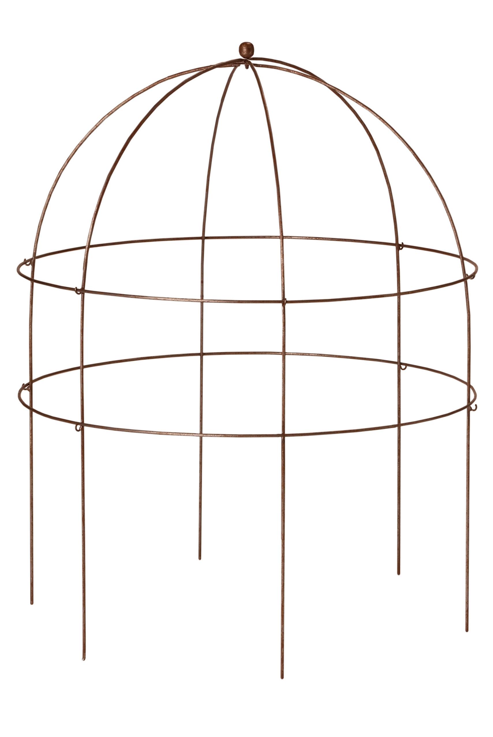 garden trellis plant supports flower supports gardener s supply jardin bird cage support 36