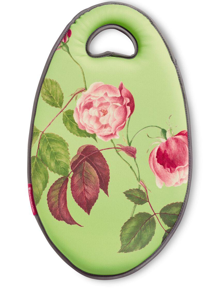 Kneeling Pad with Rose Print Garden Kneeling Pads Gardenerscom