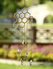 Bees and Honeycomb Mobile