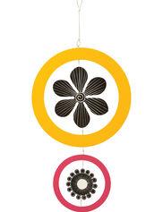 """Yellow & Fuchsia Studio M Kaleidoscope Mobile, 13"""""""