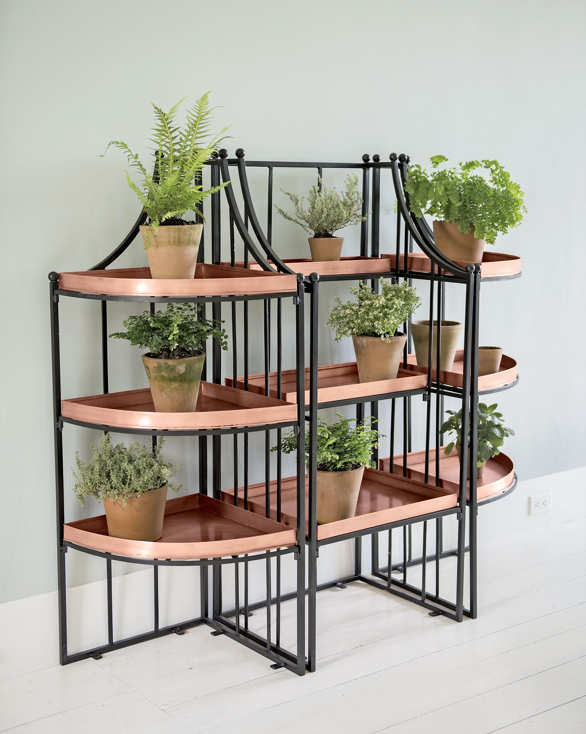 Nice Garden Stands For Plants #8: Essex Plant Stand Set With Trays